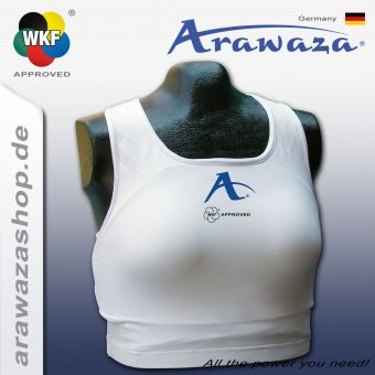 Arawaza Chest Protector Top, WKF approved