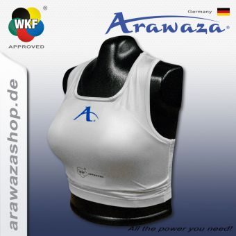 Arawaza Chest protector set WKF approved
