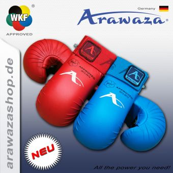 Arawaza Fist protection, WKF approved L | Blue