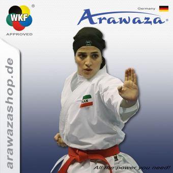 Arawaza Hijab, WKF approved